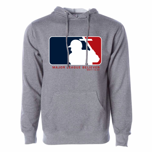 Major League Believer Hoody Sweatshirt by SonTeez