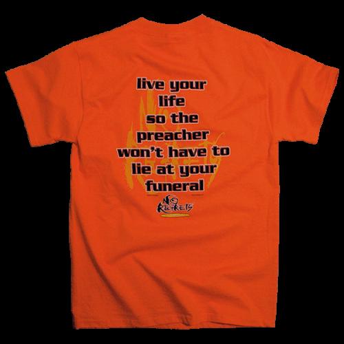 No Regrets Preacher T-shirt