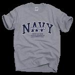 Original Navy tee shirt [heather gray]