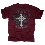 Victorious tee shirt [maroon] back
