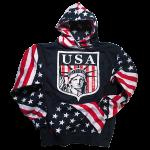Liberty USA American Flag Hoodie
