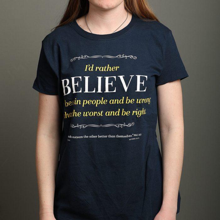 I'd Rather Believe